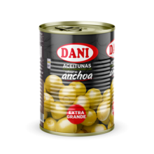 Olives stuffed with anchovy 1400g